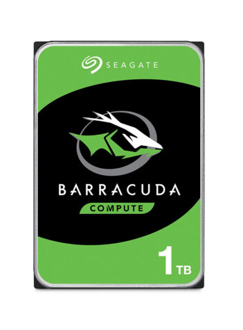 Seagate BarraCuda 1 TB Internal Hard Drive HDD – 3.5 Inch SATA 6 Gb/s 7200 RPM 64 MB Cache for Computer Desktop PC (ST1000DM010)